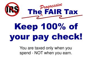Keep 100% of your pay check!