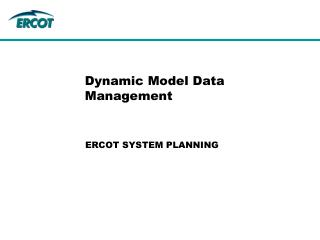 Dynamic Model Data Management