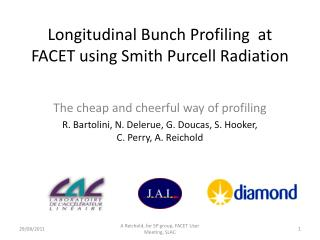 Longitudinal Bunch Profiling  at FACET using Smith Purcell Radiation