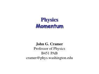 Physics  Momentum