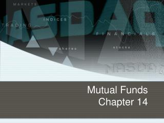 Mutual Funds Chapter 14