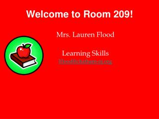 Welcome to Room 209!