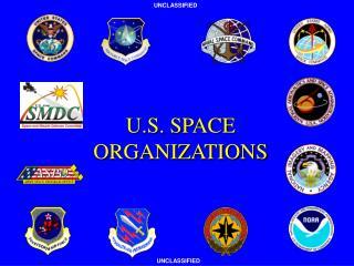 U.S. SPACE ORGANIZATIONS