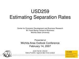 USD259 Estimating Separation Rates