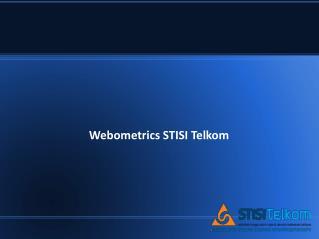 Webometrics STISI Telkom