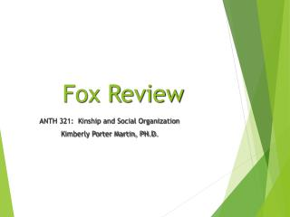 Fox Review