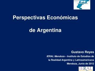 Perspectivas Econ�micas de Argentina