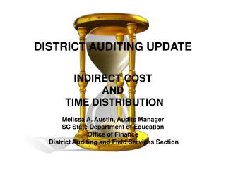 DISTRICT AUDITING UPDATE