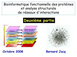 Bioinformatique fonctionnelle des protéines  et analyse structurale  de réseaux d'interactions