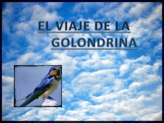 EL VIAJE DE LA  GOLONDRINA