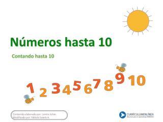 Números hasta 10