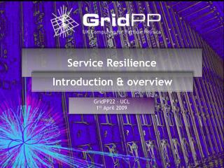 Service Resilience