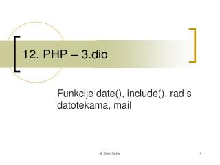 12. PHP – 3.dio