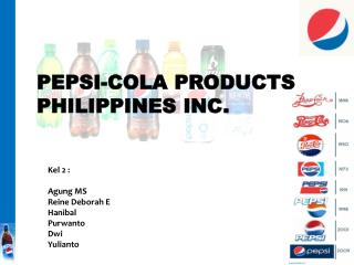 PEPSI-COLA PRODUCTS PHILIPPINES INC.