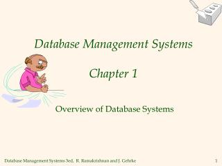 Database Management Systems Chapter 1