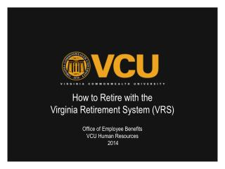 How to Retire with the  Virginia Retirement System (VRS)