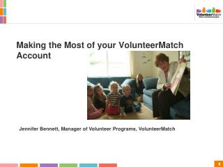 Making the Most of your VolunteerMatch Account