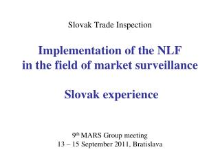 Slovak Trade Inspection
