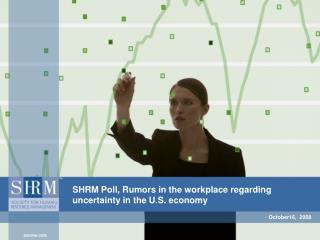 SHRM Poll, Rumors in the workplace regarding uncertainty in the U.S. economy