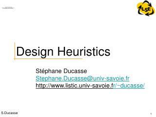 Design Heuristics