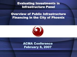 ACMA Conference February 8, 2007