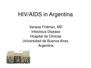 HIV/AIDS in Argentina