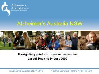 Alzheimer�s Australia NSW