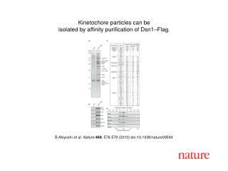 B Akiyoshi  et al. Nature 468 , 576-579 (2010) doi:10.1038/nature09594