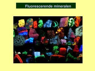 Fluorescerende mineralen