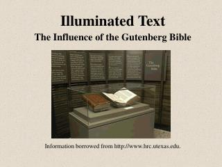 Illuminated Text