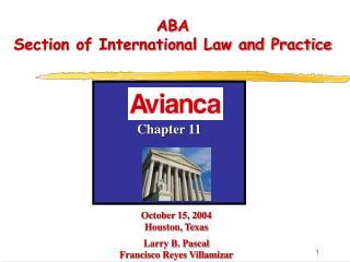 October 15, 2004 Houston, Texas Larry B. Pascal Francisco Reyes Villamizar