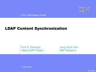 LDAP Content Synchronization