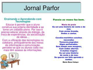 Jornal Parfor
