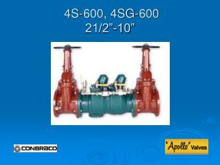 4S-600, 4SG-600 21/2�-10�