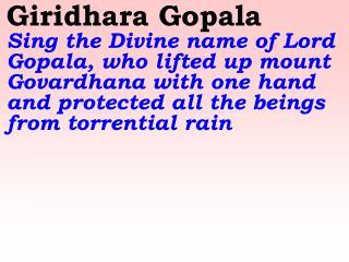 Old 535_New 620 Giridhara Gopala