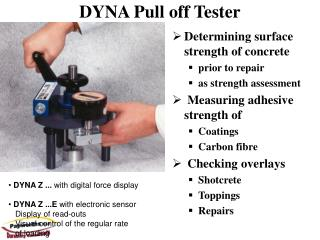 DYNA Pull off Tester