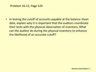 Problem 16-12, Page 529
