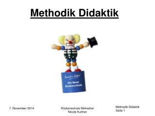 Methodik Didaktik