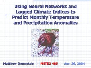 Matthew Greenstein | METEO 485 | Apr. 26, 2004