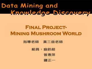 Final Project- Mining Mushroom World