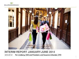 Interim  report January-JuNE  2014