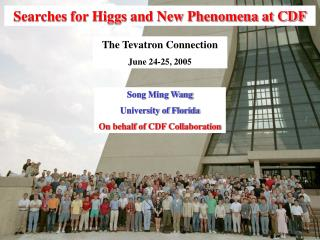 Searches for Higgs and New Phenomena at CDF