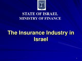 The Insurance Industry in Israel