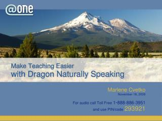 Make Teaching Easier with Dragon Naturally Speaking