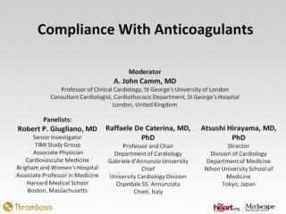 Compliance With Anticoagulants