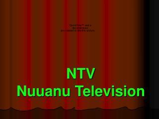 NTV Nuuanu Television