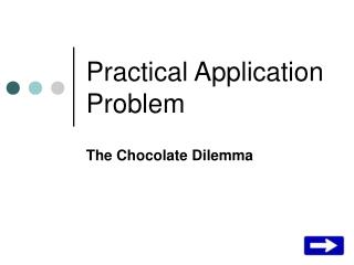 Practical Application Problem
