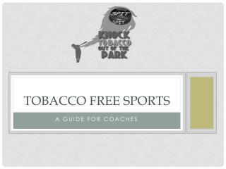 Tobacco Free Sports