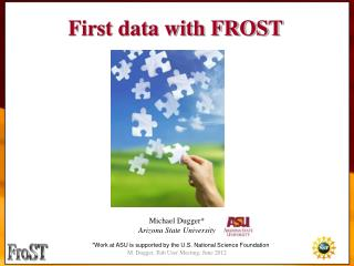 First data with FROST