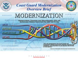 Coast Guard Modernization  Overview Brief